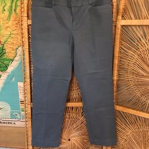 Banana Republic Sloan Fit size 8 blue gray pants
